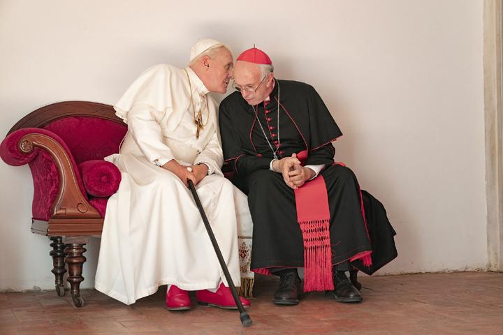 《教廷白煙》:兩任教宗的探戈
